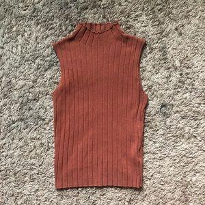 SHEIN Ribbed Sleeveless Knit Tank